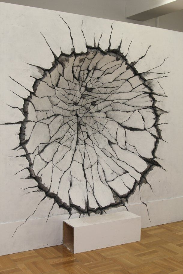 wrecking ball in wall by Katsuhiro Otomo: Katsuhirootomo, Katsuhiro Otomo, Modern Art,