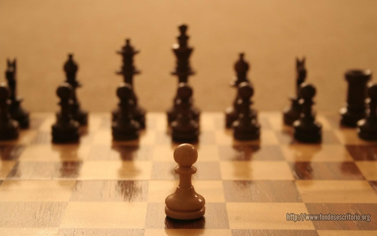 ajedrez poema peon
